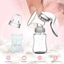 Bomba de succión Manual de pezón de bebé bomba de leche bomba de alimentación bombas para senos botella de leche suministros de posparto Accesorios