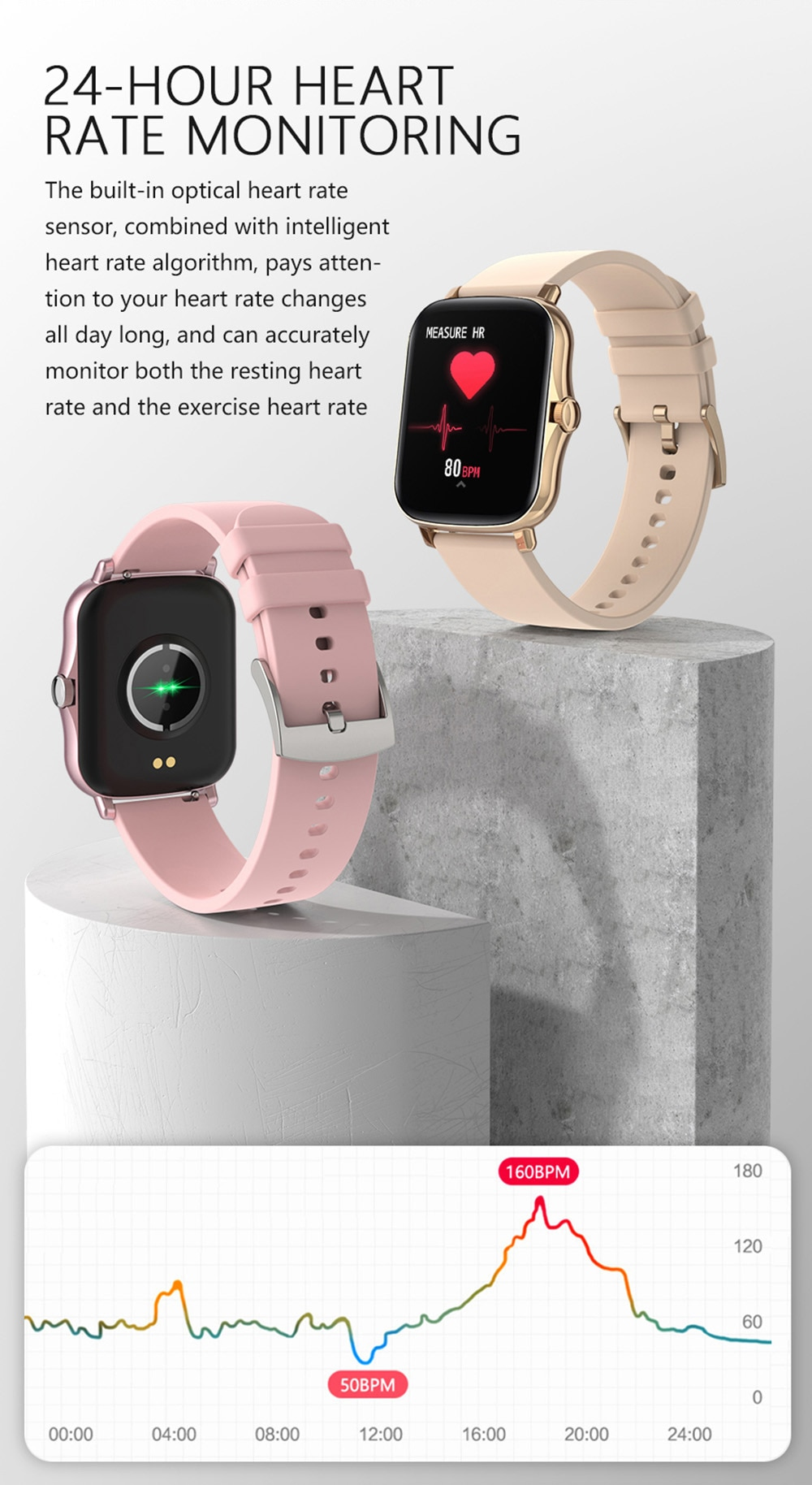 Hddcab267bf0b42cb817780f029515f87h COLMI P8 Plus 1.69 inch 2021 Smart Watch Men Full Touch Fitness Tracker IP67 waterproof Women GTS 2 Smartwatch for Xiaomi phone