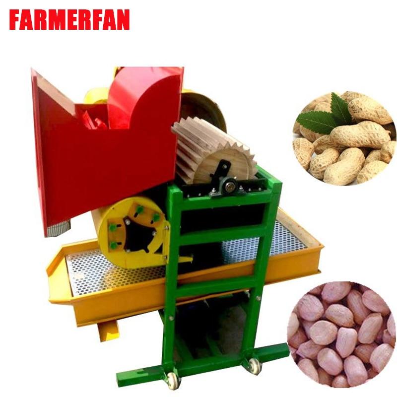 Peanut Seed Peeling Machine Oak Rubber Roller Wear-resistant Automatic Peanut Seed Peeling Machine