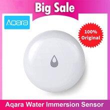 Оригинальный погружной датчик воды Aqara IP67, датчик воды для умного дома, дистанционное управление через приложение