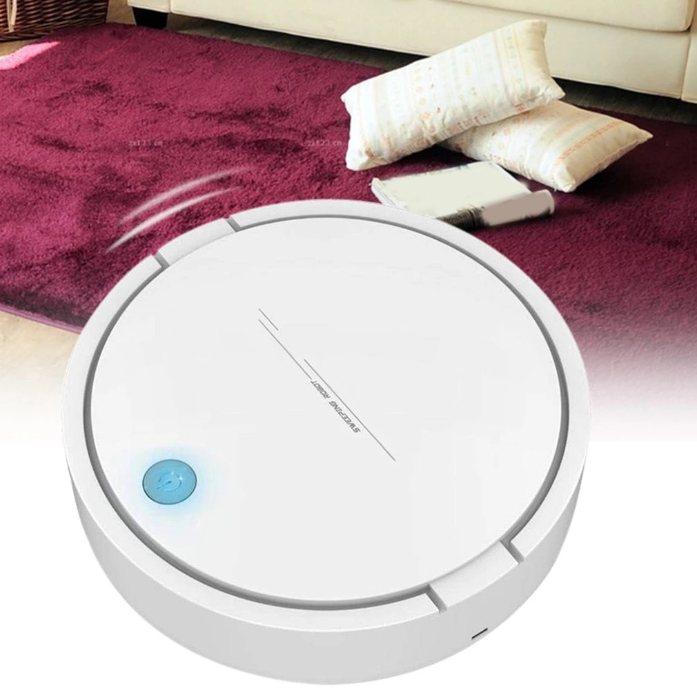 Smart Robot Vacuum Cleaner USB Rechargeable Automatic Sweeping Mopping Robotic Vacuum Cleaner Machine cheap robot cleaner auto sweeping mopping kk6l mini robotic vacuum cleaner easy to clean wooden floor tiles carpet