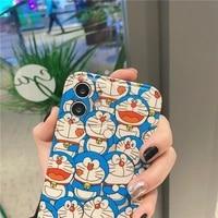 doraemon cartoon couple cute girl phone case for iphone78se27plus8pxsxsmaxxr11pro11promax1212promax12mini
