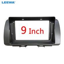 """LEEWA автомобильный аудио стерео 2DIN фасции Рамка адаптер для Toyota BB Subaru Dex 9 """"большой экран DVD плеер приборная панель Рамка комплект"""