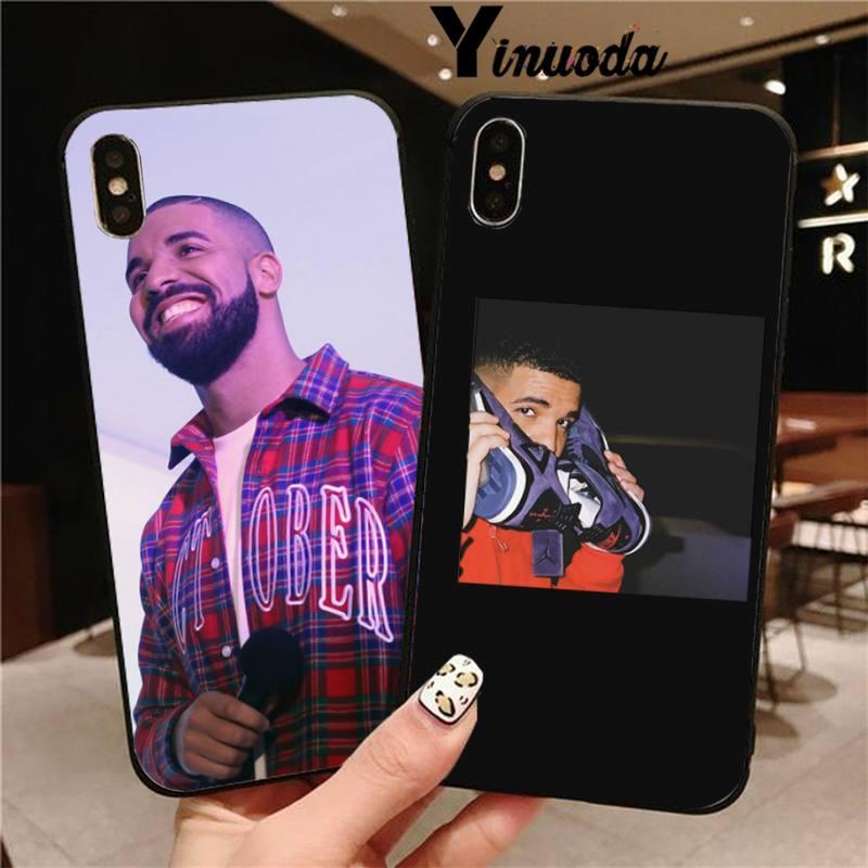 Yinuoda Drake Bling teléfono lindo caso para iPhone 8 7 6 6S Plus X XS X MAX 5 5S SE XR 11 11pro promax