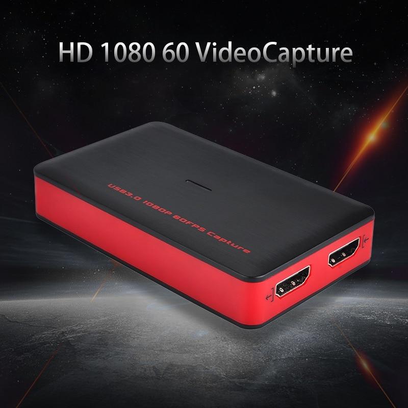 Ezcap 1080P 60fps Full HD Video Recorder 261 HDMI a USB Video captura dispositivo para Windows Mac Linux soporte transmisión en directo