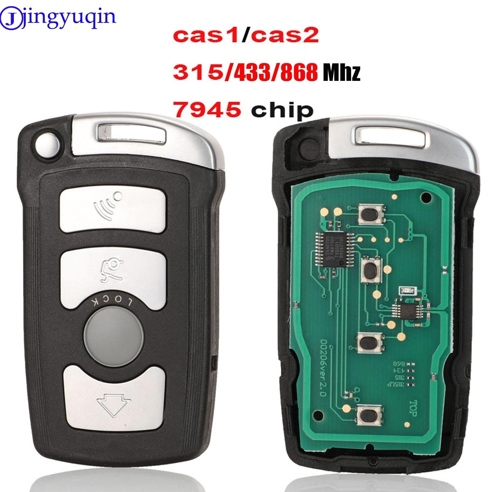jingyuqin Full Remote Car Key 7945 chip For BMW 7 Series 730/740 (E65 / E66) CAS1 / CAS2 Anti-theft System 315/433/868
