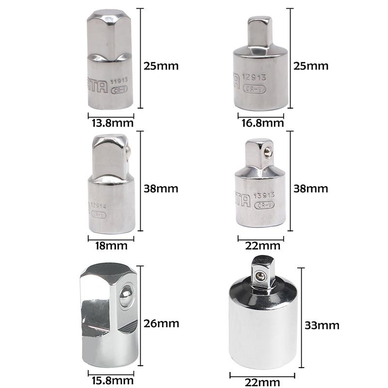 1/4 3/8 1/2 cala adapter klucza z grzechotką tuleja ze stali - Narzędzia ręczne - Zdjęcie 3