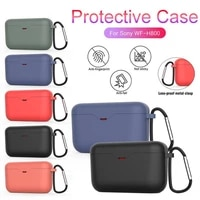 for sony wf 1000xm3 wireless bluetooth earphone anti shock charging case earphone cover with hook