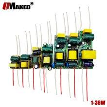 Led-treiber 300mA 1-3W 3-5W 4-7W 8-12W 12-18W 18-25W 25-36W Innen PCB LED Netzteil AC85-265V 1W LEDs beleuchtung Transformatoren