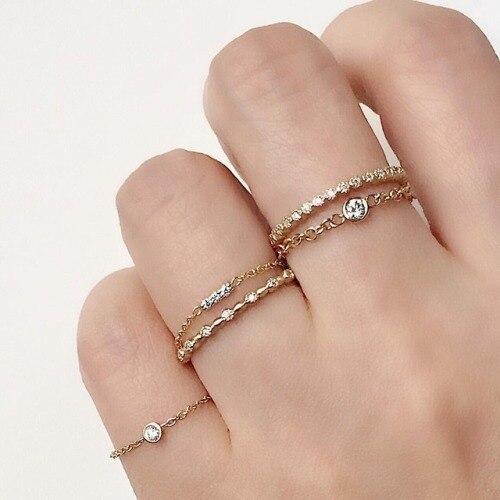 925 sterling silber jewlery großhandel fabrik zarte drei stein bar tiny 5mm bar kleine bar dünne kette silber midi ring