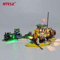 MTELE Brand LED Light Up Kit For Wrecked Shrimp Boat Compatile With 70419