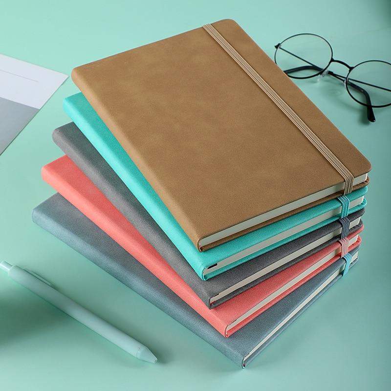 A5 бизнес-блокнот офисный блокнот из искусственной кожи, креативный кожаный ремешок, ежедневный блокнот для бизнеса, офиса, ежедневный блокн...