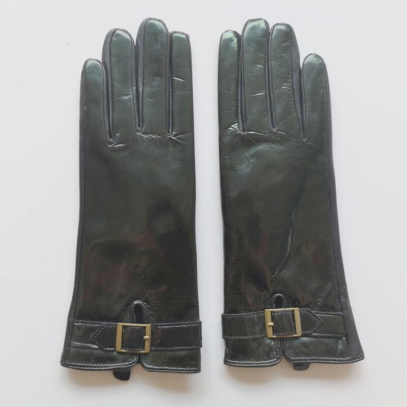 Женские зимние перчатки GOURS, черные перчатки из натуральной козьей кожи, со скидкой, KCL, 2019