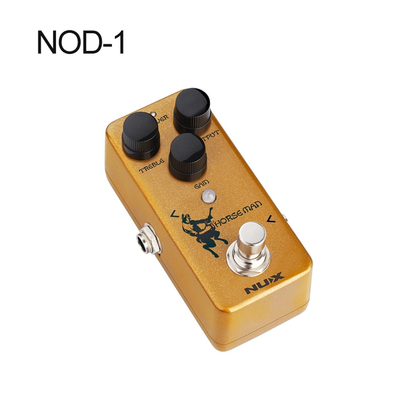 Nux Mini Overdrive Effect Electric Guitar Parts Accessories Electric Guitar Effects Horseman Nod-1 enlarge