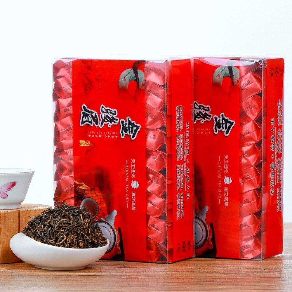 Jinjunmei-شاي أسود عالي الجودة ، 2020 جرام ، تعبئة مستقلة للأكياس الصغيرة ، 250