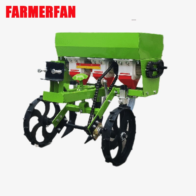 3 line Micro tillage machine agricultural  fertilizer planter applicator wheat corn planting  multifunctional accessory planter