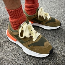 Own Brand [Not MMY] Street Wear Army Same Style Fashion Couple Sneakers Nigel Cabourn Canvas Shoes F