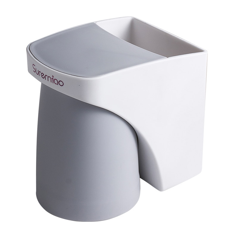 1PC Magnetic Attraction Toothbrush Holder Bathroom Decoration Accessories Cleanser Storage Rack Bathroom Accessories органайзер enlarge