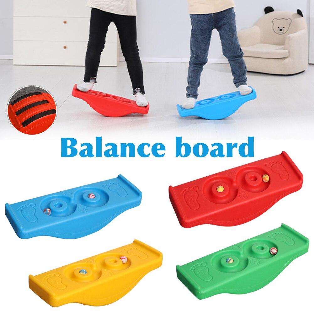 لوح توازن محمول رياضي خارجي للأطفال لوح توازن للحديقة هزاز متأرجحة للتدريب