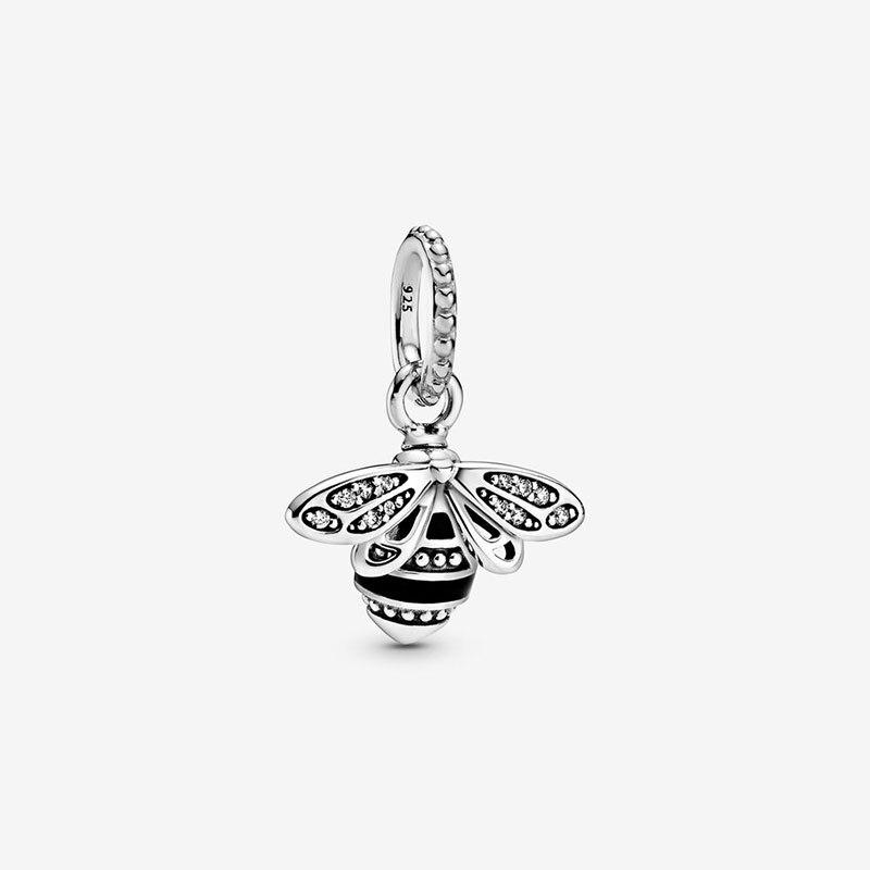 2020 nuevas cuentas de moda reina brillante abeja colgante encantos Ajuste Original Pandora pulseras mujeres DIY joyería
