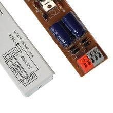 Balastro electrónico T8 de amplio voltaje de 220-240V CA 2x36W, lastres de lámpara fluorescente A69E