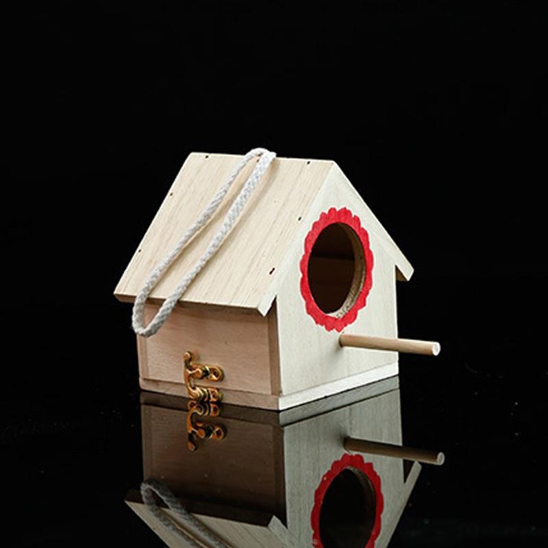 Alta calidad Nido de Pájaro madera Paulownia Hardware práctico hoja de loto mano de obra fina fuerte conexión