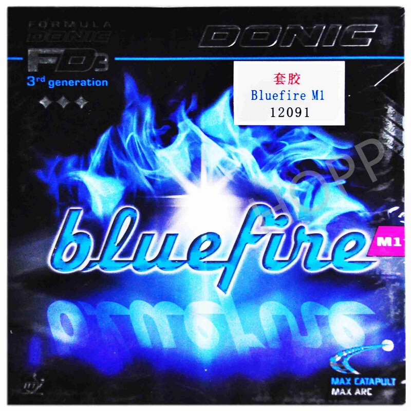 DONIC Bluefire M1/M2/M3 Table Tennis Rubber Spin Speed pimples in DONIC ping pong sponge tenis de mesa