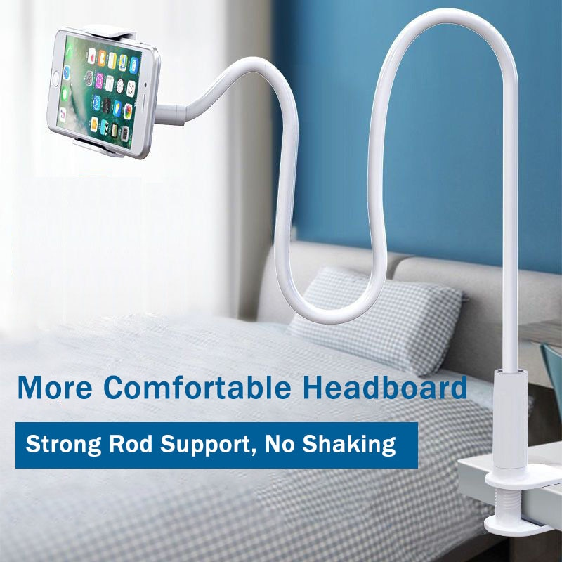 Lazy Universal Phone Holder Tablet Stand Flexible 360 Clamp Adjustable Home Bed Desktop Mount Cellphone Smartphone Desk Bracket