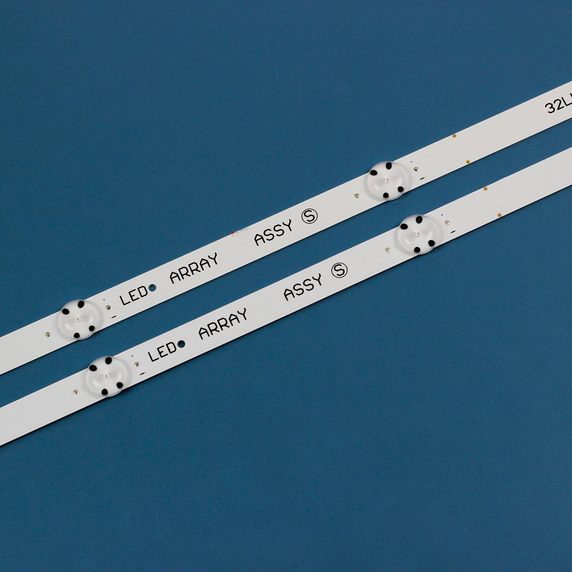 20PCS LED backlight strip for LG 32LK6100 32LK6200 32LK6100PLB 32LK6200PLA LED ARRAY 32LK61 SSC_32LK61_BOE(FHD)_5LED enlarge