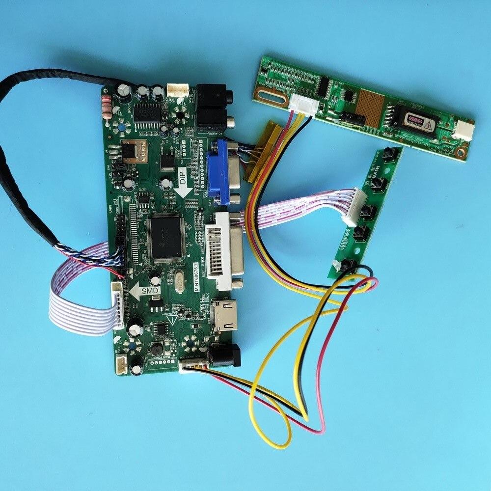 كيت ل LP141WX3-TLA1/LP141WX3-TLA4 30pin M.NT68676 HDMI + DVI + VGA LCD الصوت لوحة 1280x800 عرض moitor المراقب المجلس