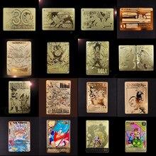 Cartes Dragon Ball, cartes métalliques Super instinctives, Goku Jiren, jouets en édition, jeu Flash, Collection