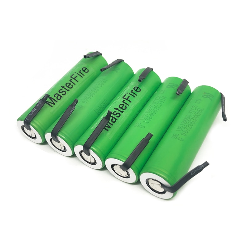 MasterFire 18 unids/lote 3,7 V 18650 US18650VTC5 VTC5 2600mAh alto 30A descarga batería para Sony baterías de níquel de DIY hojas