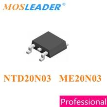 Mosleader NTD20N03 ME20N03 TO252 100 pièces 500 pièces 1000 pièces NTD20N03 20N03 DPAK 20A 30V N-canal Chinois Haute qualité Mosfet