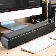 AUX TF USB mejorado Bass 3D Surround inalámbrico Digital Home Theater manos libres Bluetooth Altavoz de escritorio PC portátil Simple moderno