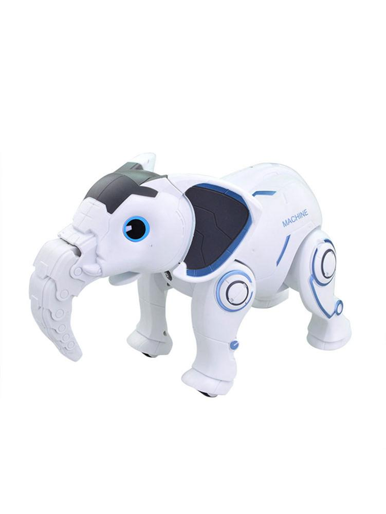 Cute Wireless Elephant Robot Interactive Children Toy Singing Dancing Remote Control Elephant Shape Robot Toy Early Education To