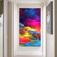 reliabli art abstract paintings modern landscape art canvas pictures home wall posters for living room decoration no frame