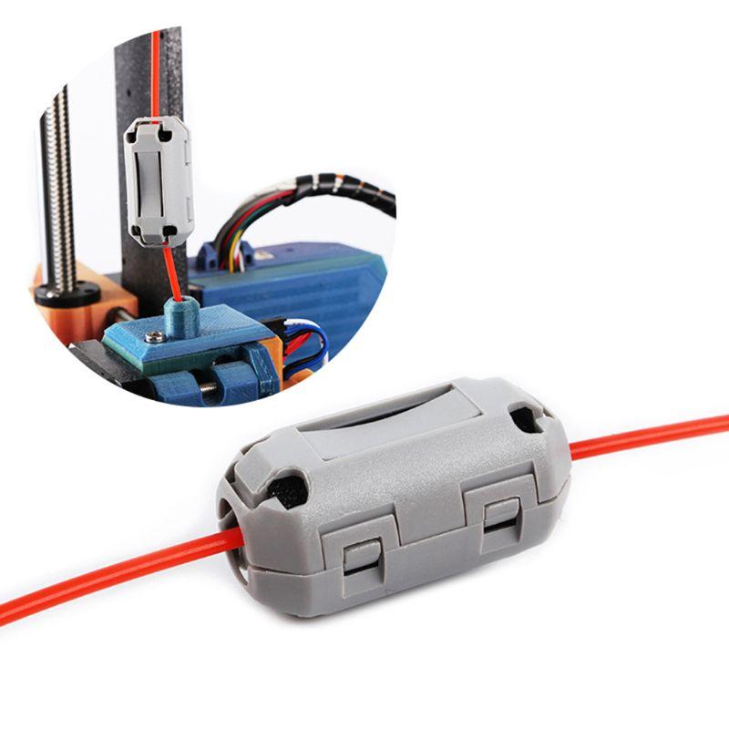 Filtros anti-estático para limpeza de peças, filtros de borracha, resistente a chama, para pla abs petg 3d, 1.75mm/3mm acessórios de peças da impressora