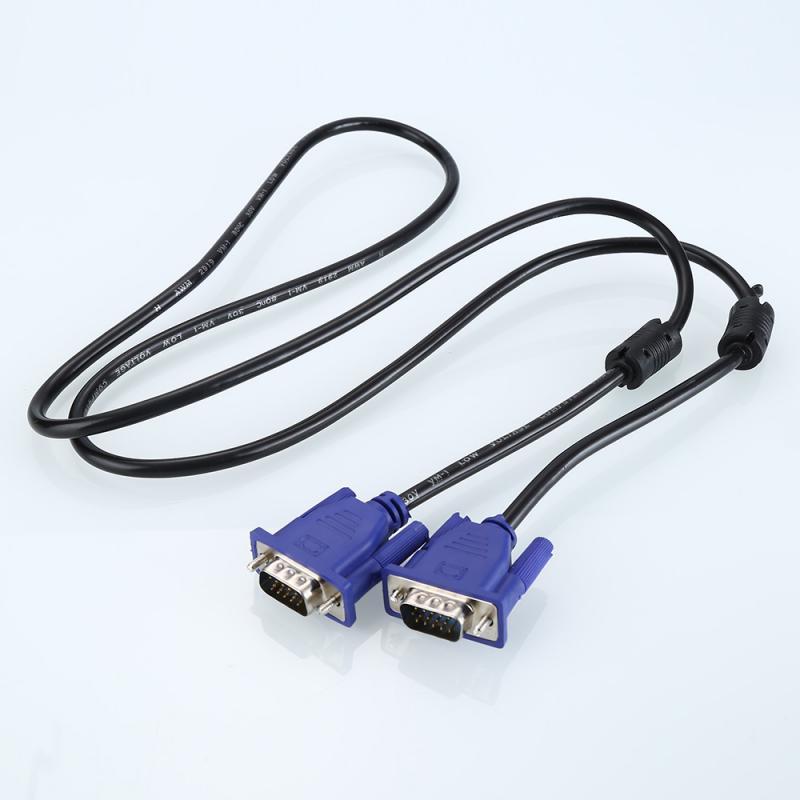Cable de extensión macho a macho, VGA, SVGA, VGA a VGA, 1,5...