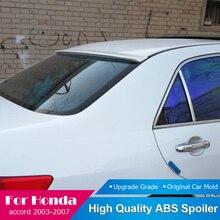 Fit Voor Honda Accord 2003-2007 Dakspoiler Hoge Qulity ABS Plastic Kofferbak Boot Wing Rear Lip Dak wit Spoiler Auto Styling