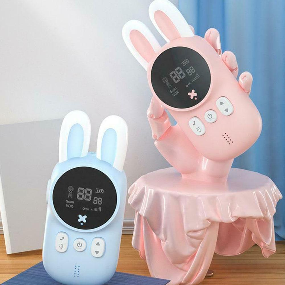 Children's Hand-held Wireless Sound Transmission Walkie-talkie 3km Parent-child Interactive Educational Toy Gift