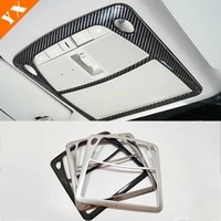 carbonchrome for nissan x trail t32 rogue murano sentra pathfinder front rear reading lampshade light frame panel cover trim