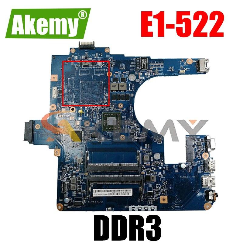 اللوحة الرئيسية 48.4zkm001m لشركة أيسر لبوابة NE522 E1-522 اللوحة الأم للكمبيوتر المحمول NBY2Z11002 DDR3 100% اختبارها