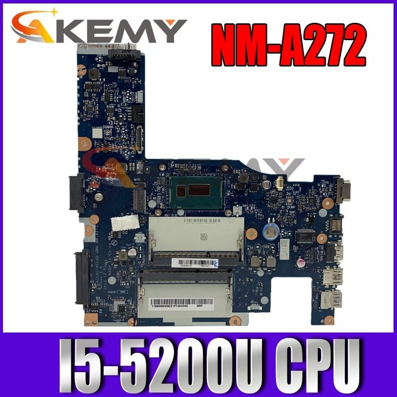 Akemy لينوفو G40-80 G40-70 Z40-70 NM-A362 NM-A272 Laotop اللوحة G40-80 اللوحة مع I5-5200U وحدة المعالجة المركزية