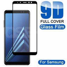 9D Protective Glass On the For Samsung Galaxy A5 A7 A9 J2 J8 2018 A6 A8 J4 J6 Plus 2018 Tempered Gla