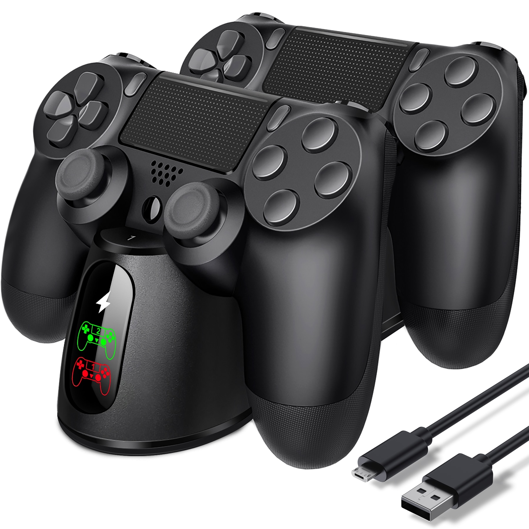 BEBONCOOL контроллер зарядное устройство Dualsense док-станция для PS4 зарядная станция для DualShock 4/Playstation 4/PS4/ Pro /PS4 тонкий контроллер