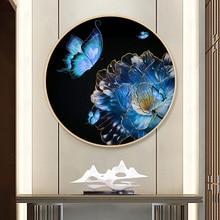 Fil de point de croix Ruyi Wufu   Couture imprimée bricolage, ensembles pour Kit de broderie, décoration de maison avec broderie complète