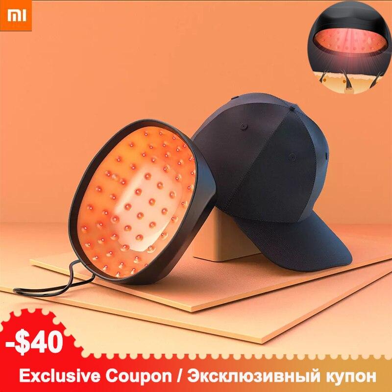 Xiaomi COSBEAUTY Elektrische Laser Haar Generator Hut 81 Laser Haar Wachstum System Nachwachsen Der Haare Helm Follikel Therapie LLLT Haar