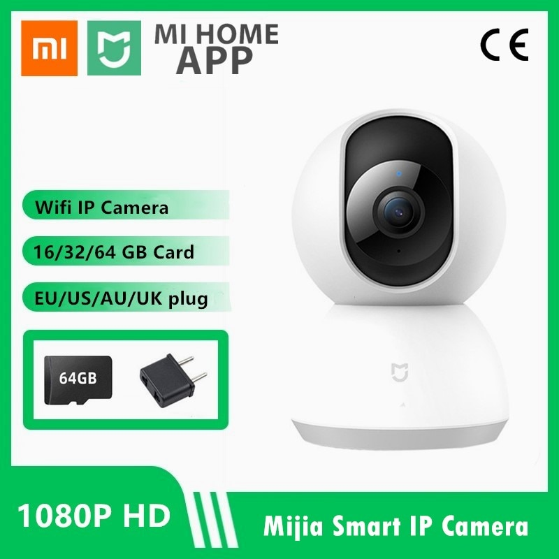 xiaomi hualai xiaofang ip camera camcorder 1080p two way dual lens panoramic view wifi smart home vr view mode for mi home app Offical Xiaomi 1080P IP Mi Smart Camera 360 Angle Wireless WiFi Night Vision Video Camera Webcam Camcorder Protect Home Security