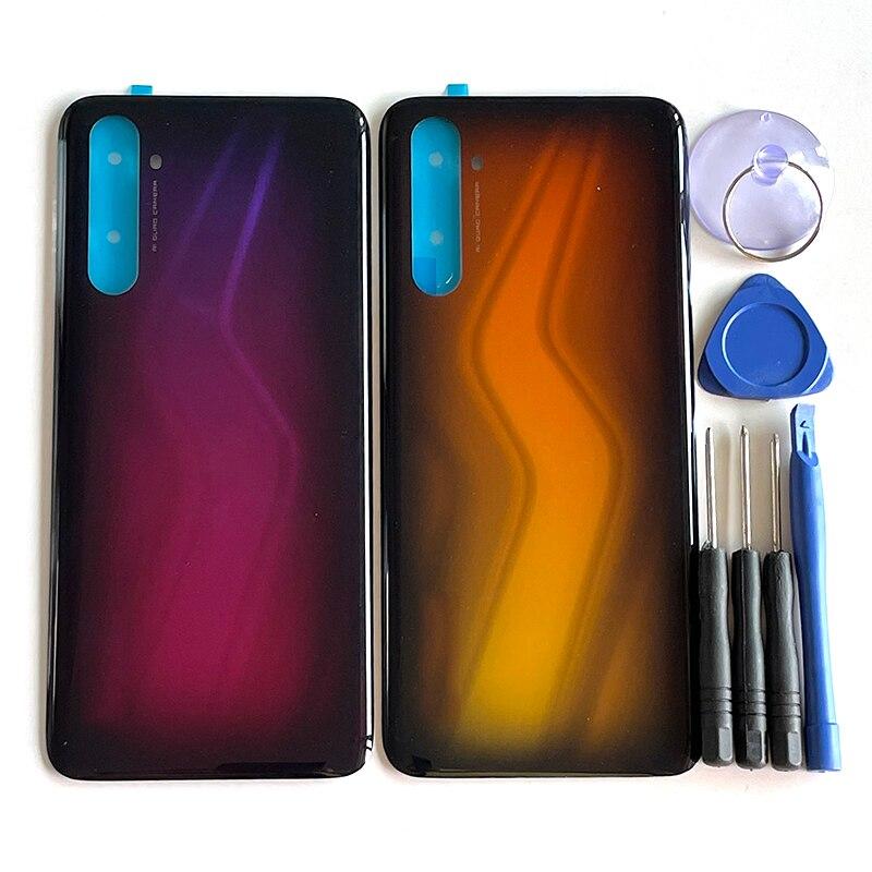 6.6 'الأصلي ل ممن لهم Realme 6 برو RMX2061 غطاء البطارية الإسكان حالة ل Realme 6Pro RMX2063 الغطاء الخلفي + 3M ملصقا