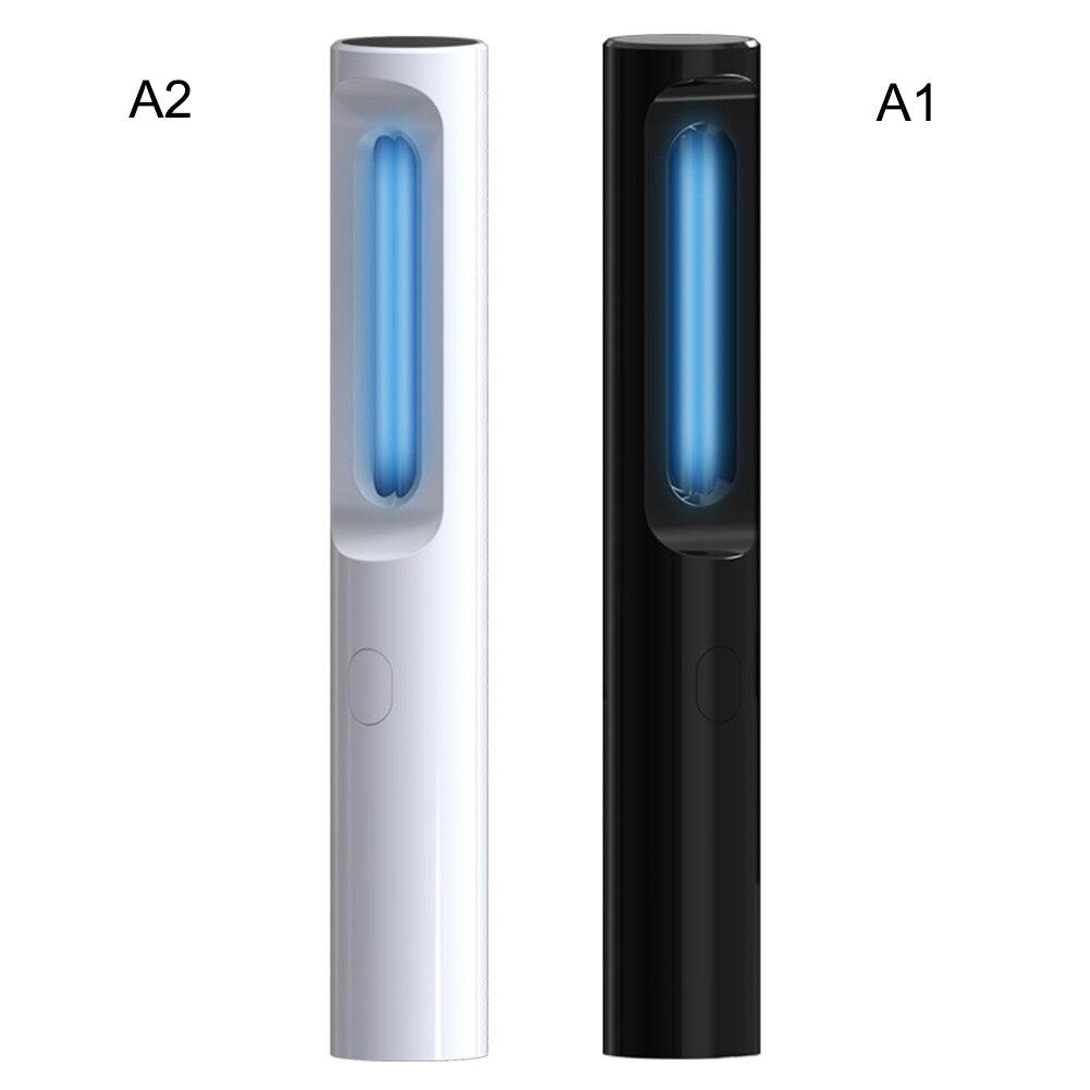 Disponible 5W de mano UVC desinfección luz hogar portátil germicida fuerte lámpara para esterilizar la ropa interior infantil desinfección Stick